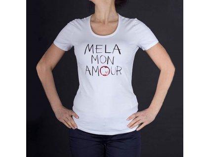 Dámské luxusní bílé tričko Armani