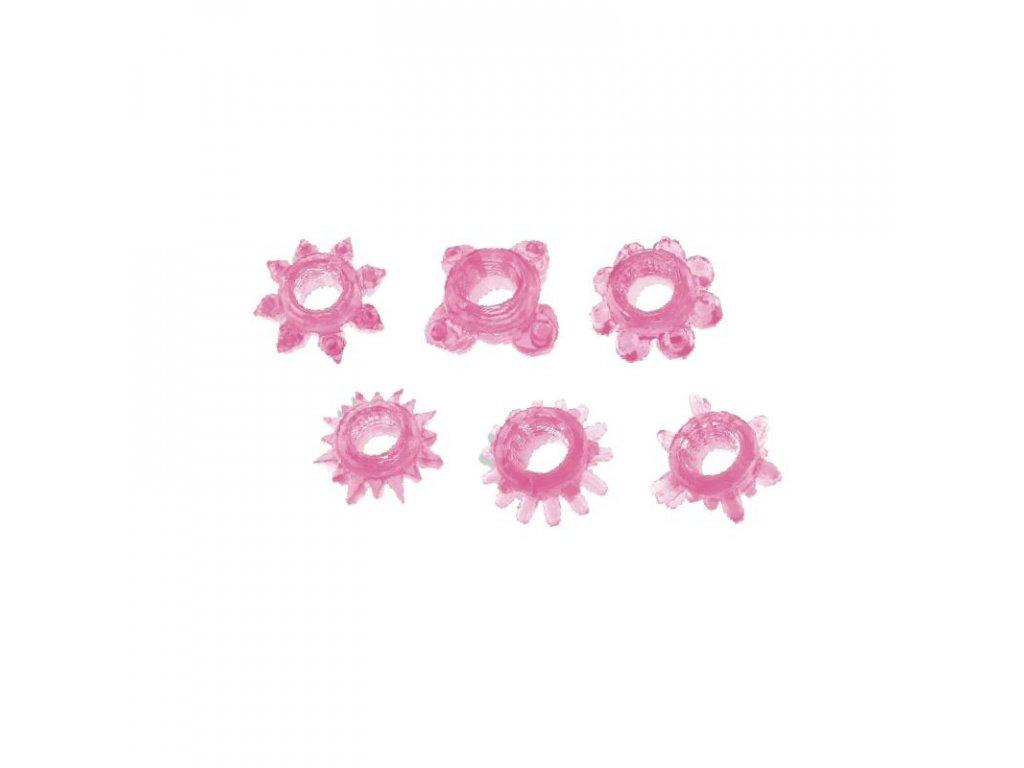6 kroužků