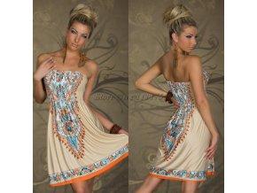 Letní plážové či domácí šaty, L/XL/2XL