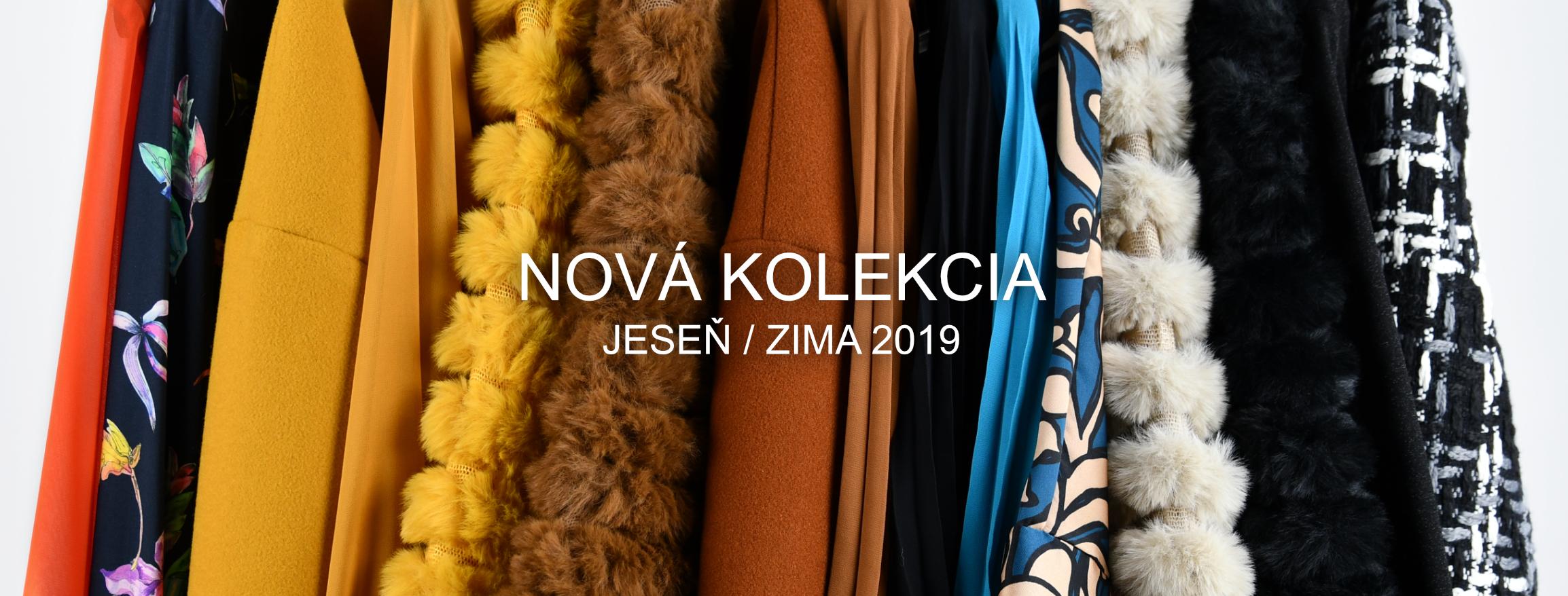Nová kolekcia - Jeseň / Zima 2019