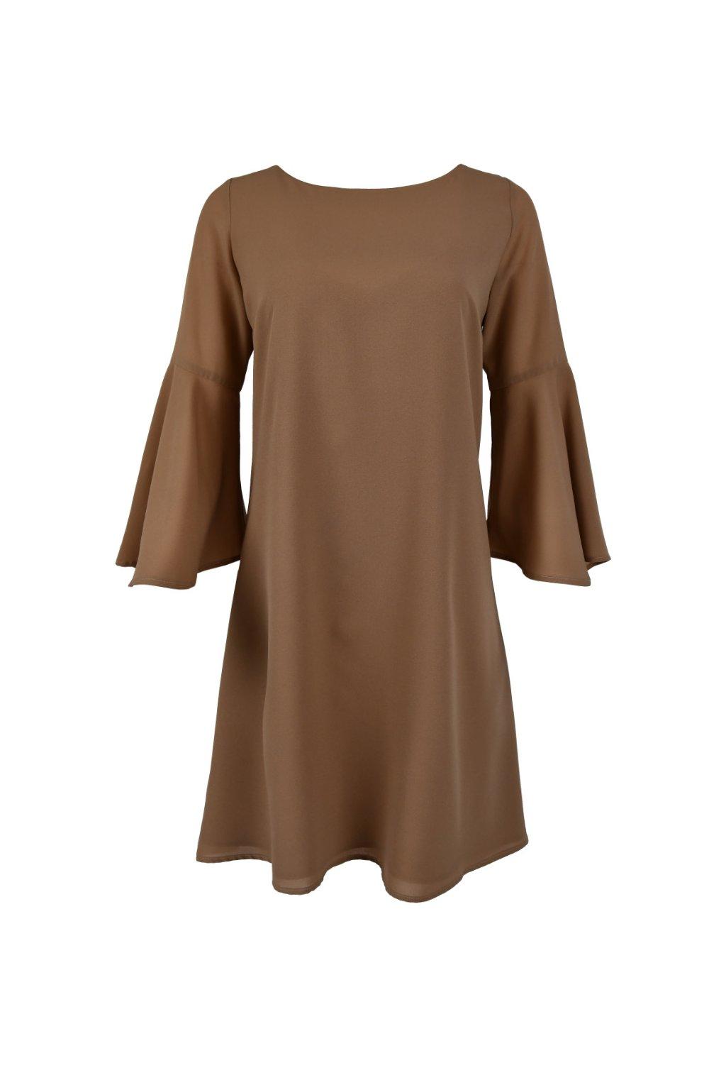 Šaty s mašlou - Z-CREPE MS