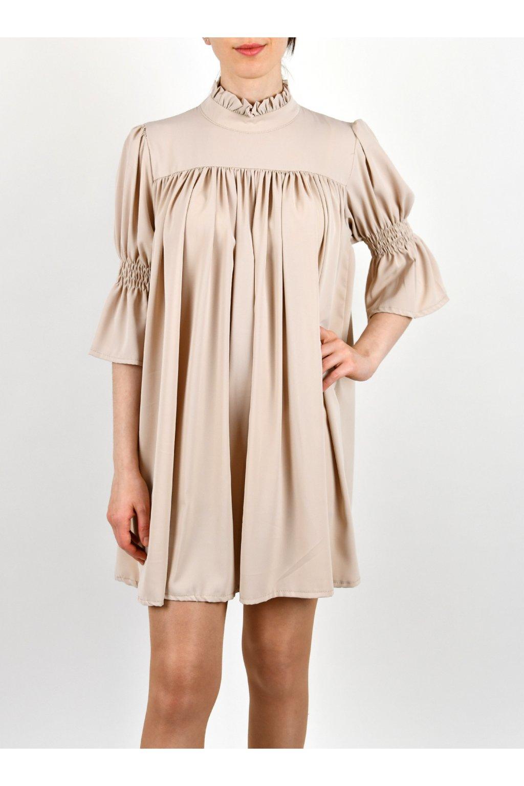 Šaty so stojačikom - ABBEY