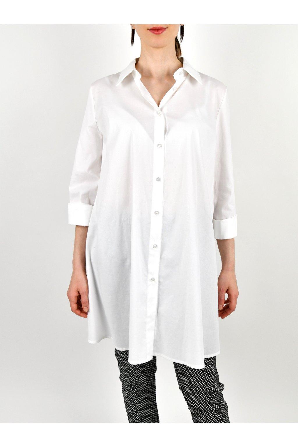 Blúzka bavlnená - WHITE OVER