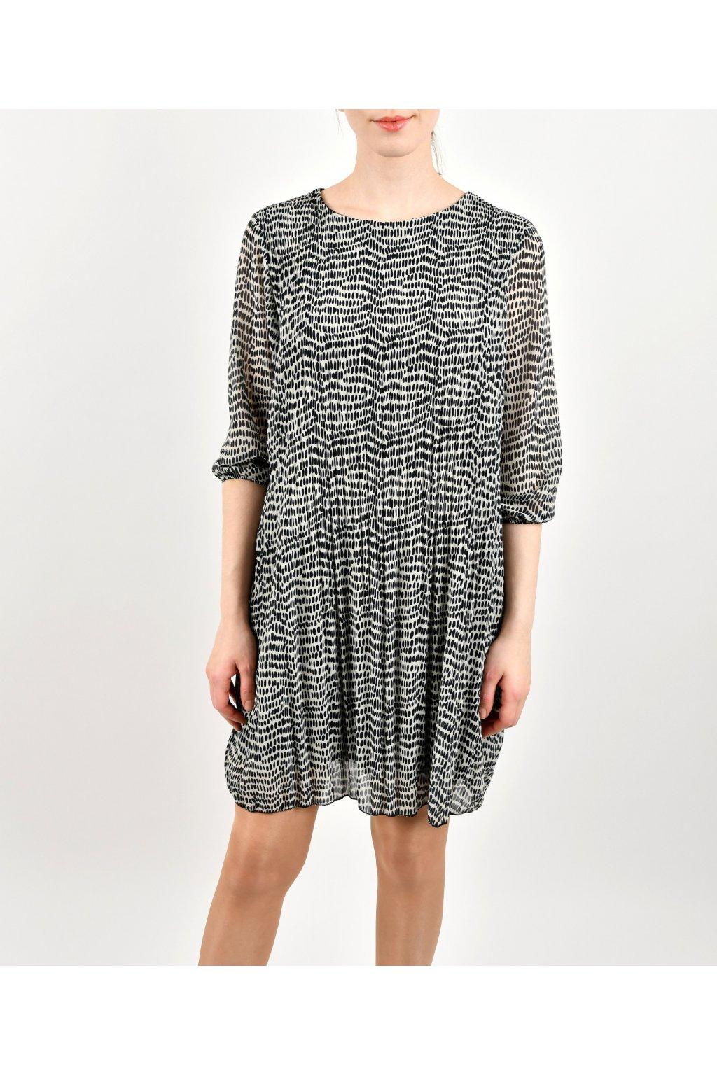 Šaty voľného strihu - CB MINI PLISEE