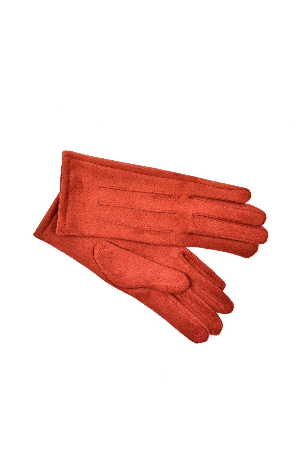 rukavice cervene