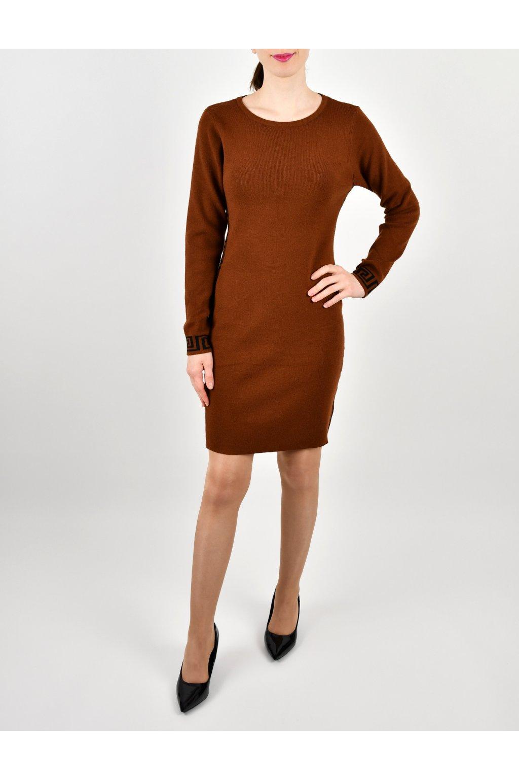 Šaty úpletové - VERS-2BL