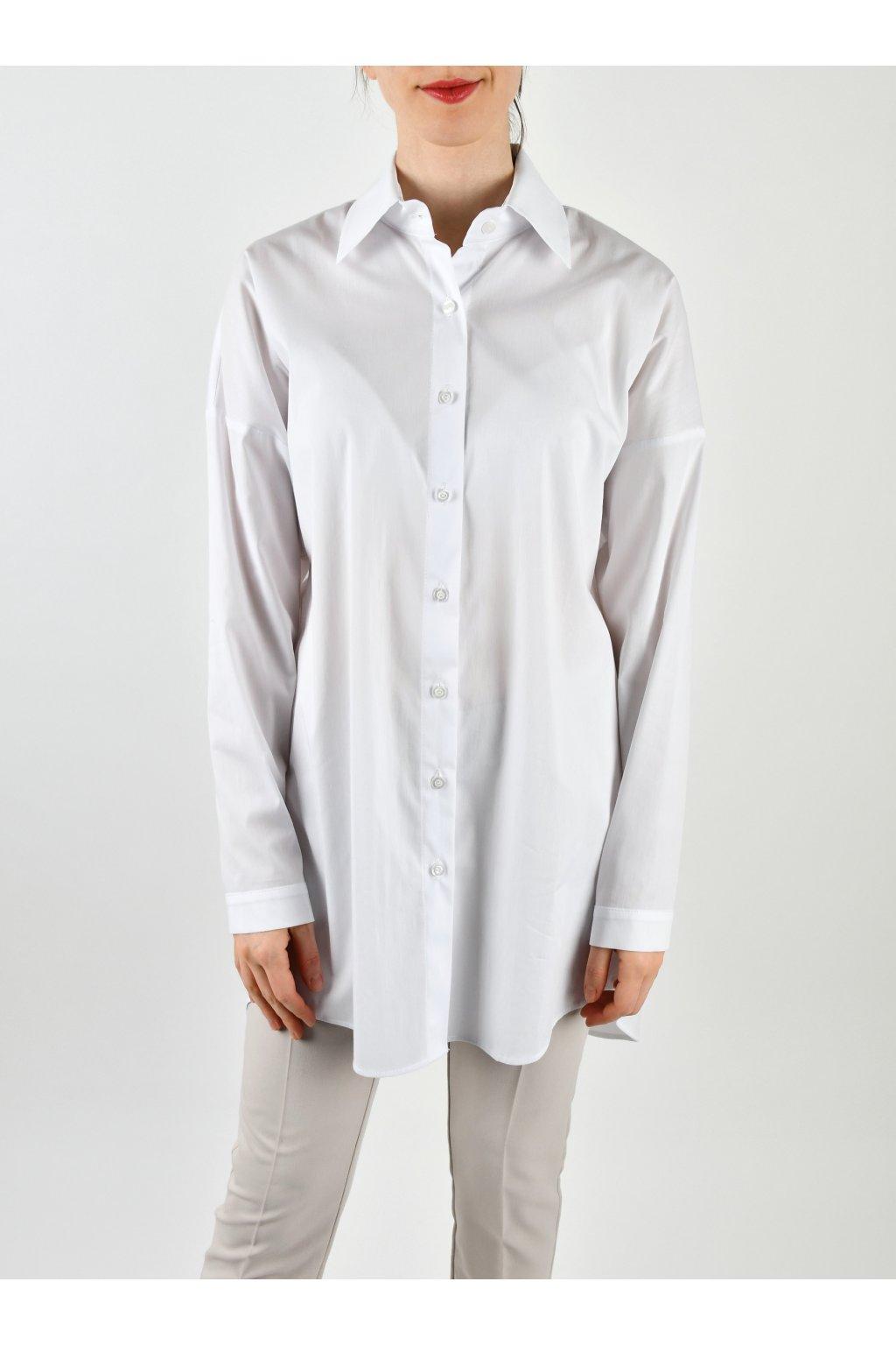 Košeľa voľného strihu - CHERRY