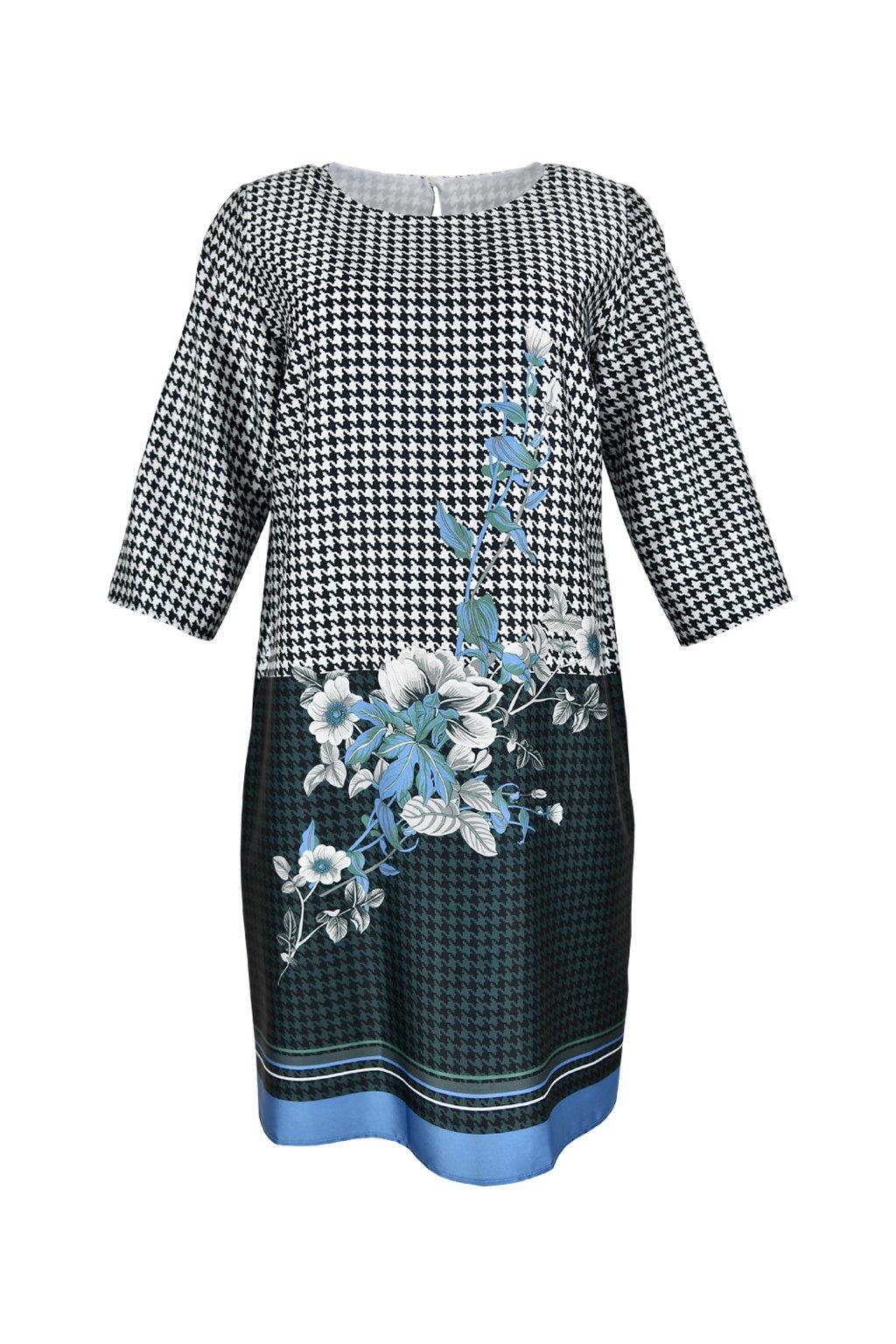 Šaty voľného strihu - ANDROMEDA