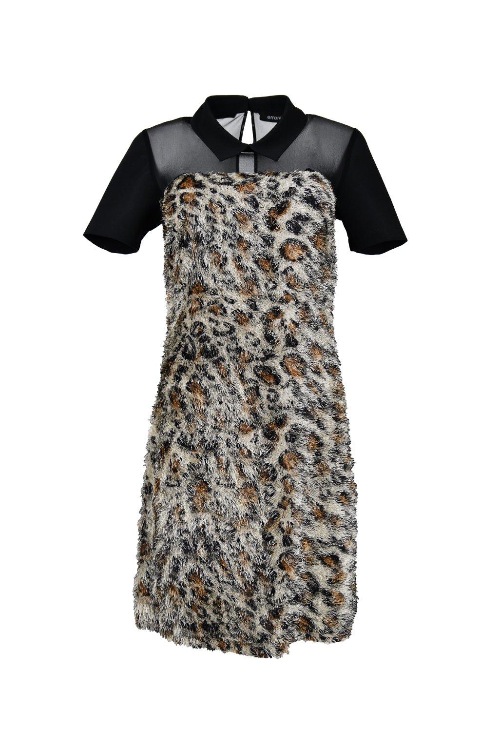 Šaty s golierikom - VIVI / SIMONE