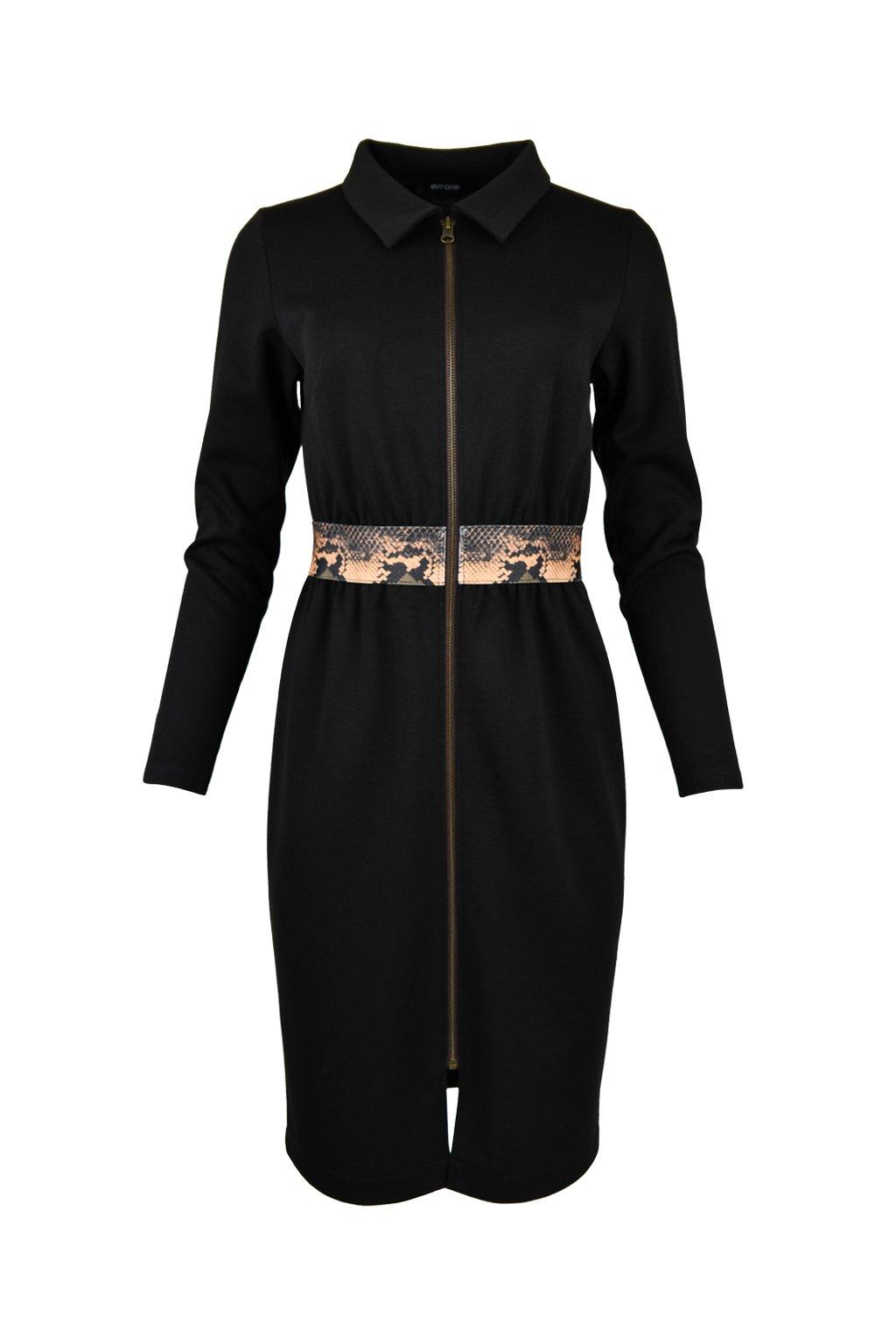 Šaty so zipsom - RIETI SNAKE