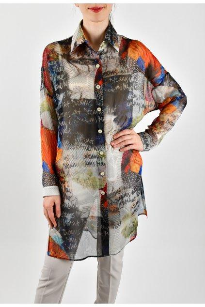 Košeľa priesvitná - TANZ