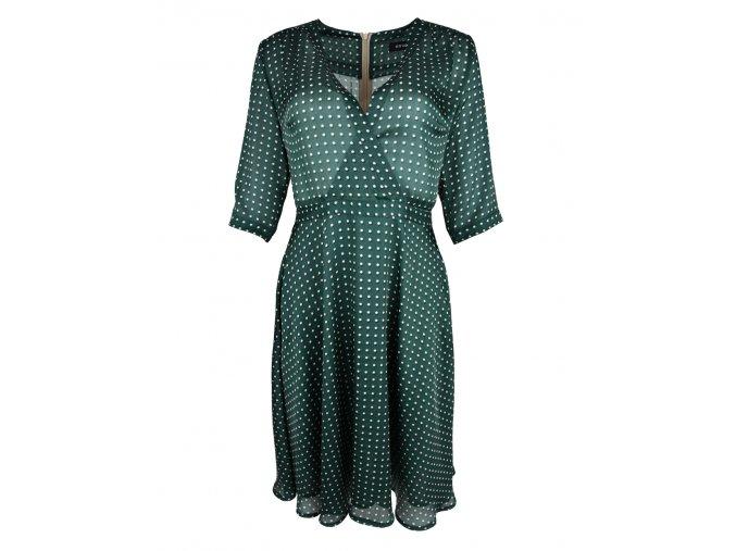 Šaty s výstrihom - KRIVANS