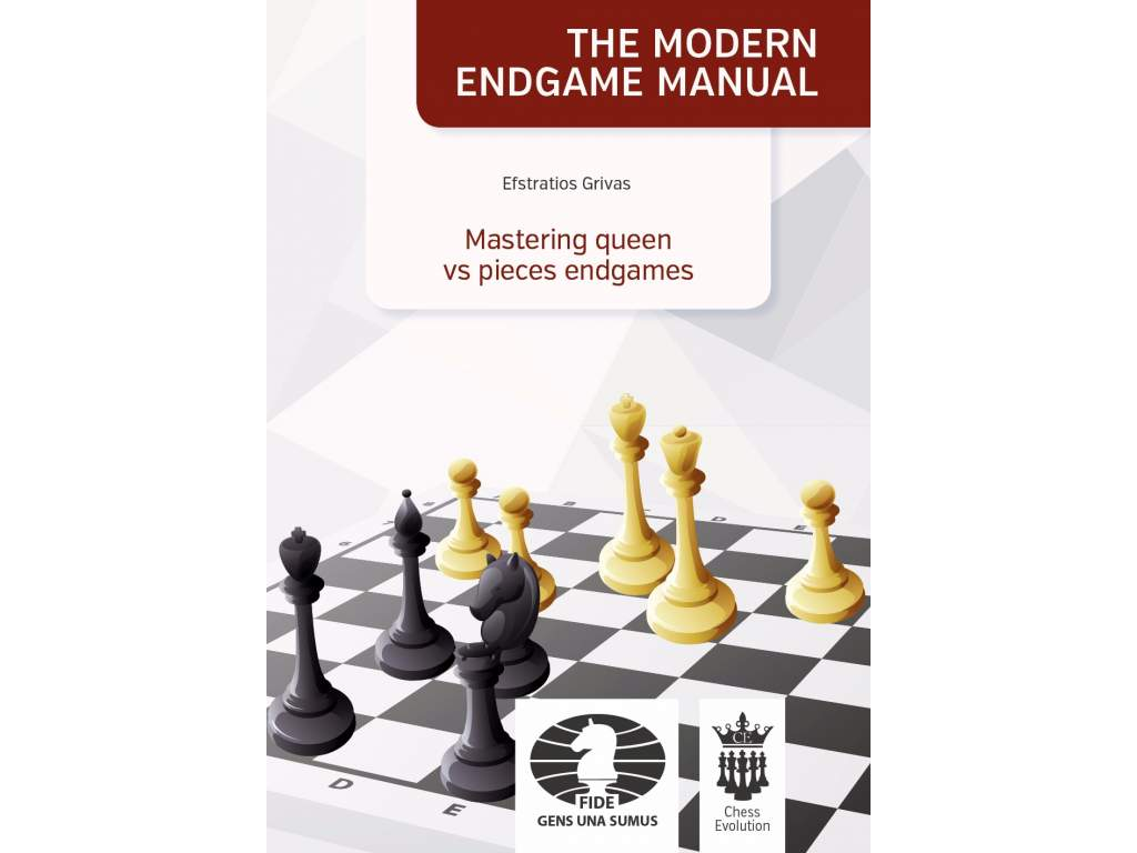 Mastering Queen vs pieces cover front