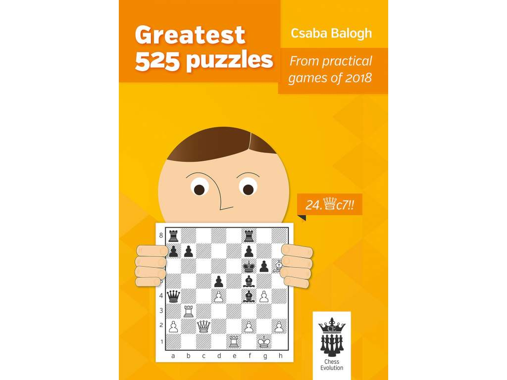 Greatest 525 puzzles front cover