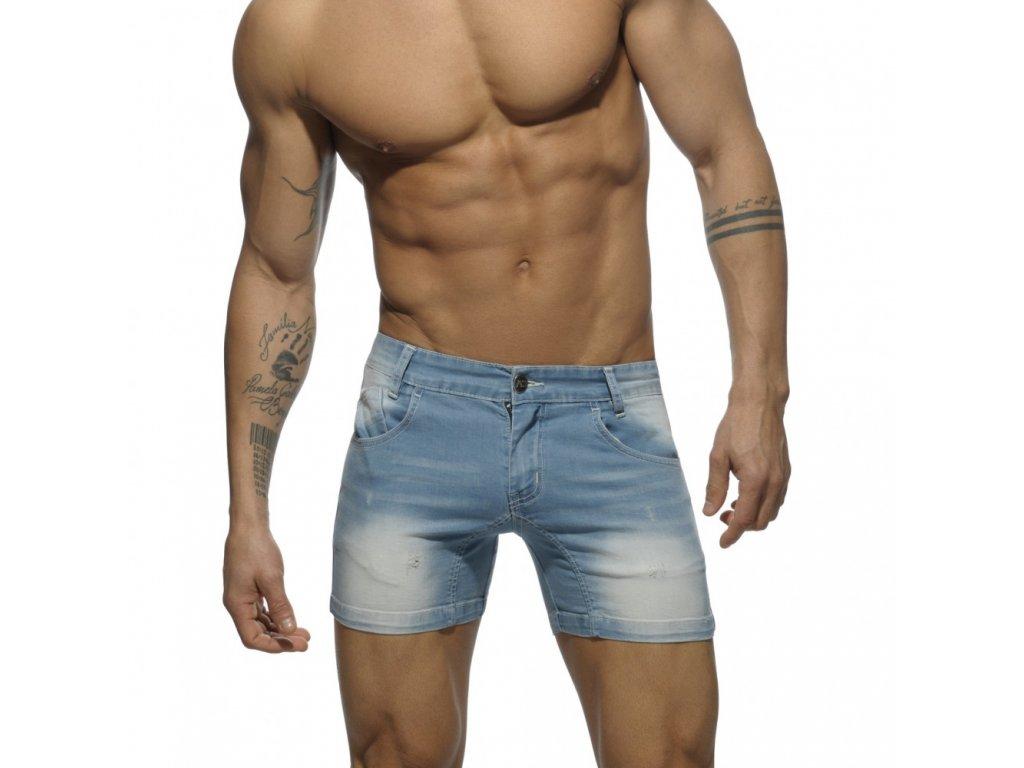 eca4fcbd0d4 Pánské jeansové kraťasy AD SHORT JEANS - světle modré - ES ...