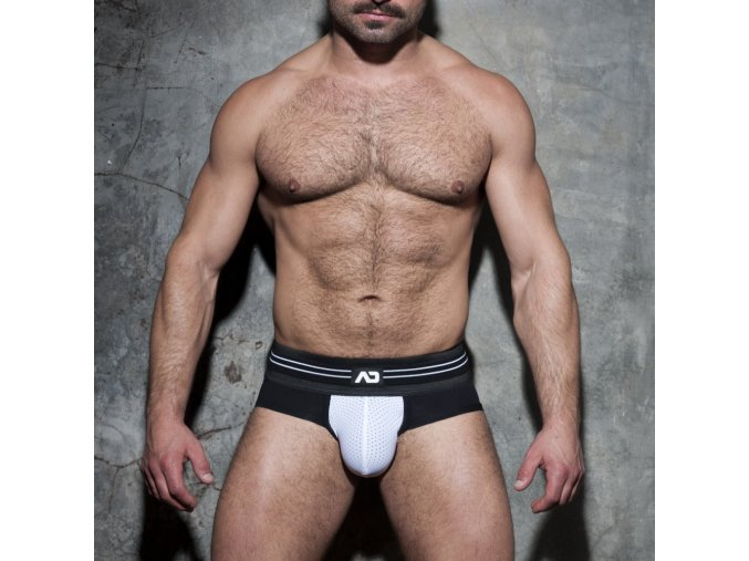adf112 double stripe brief