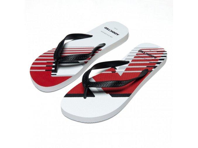 ad796 ad logo flip flop