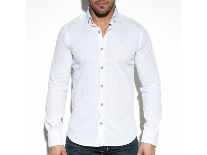 sht019 button packet shirt