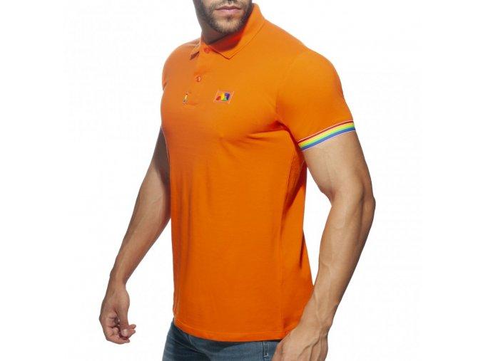 ad960 rainbow polo shirt