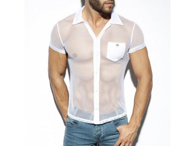 sht024 mesh short sleeves shirt