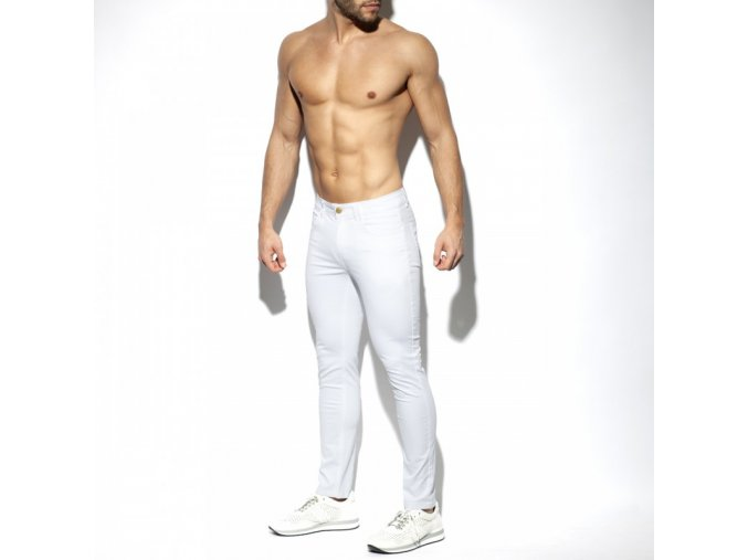 esj057 slim fit trousers