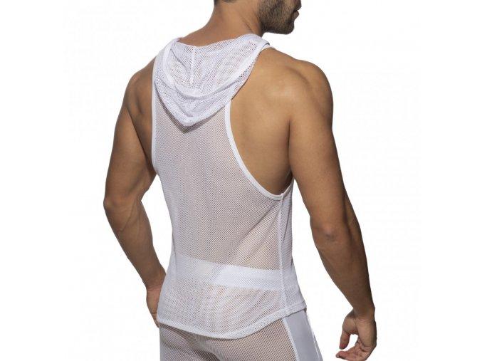 ad968 mesh sleeveless hoody (1)