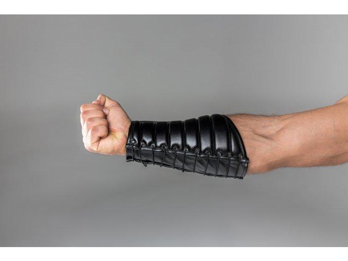 Náramek Maskulo Armored. Maskulo Leather-look Forearm Guard Wallet