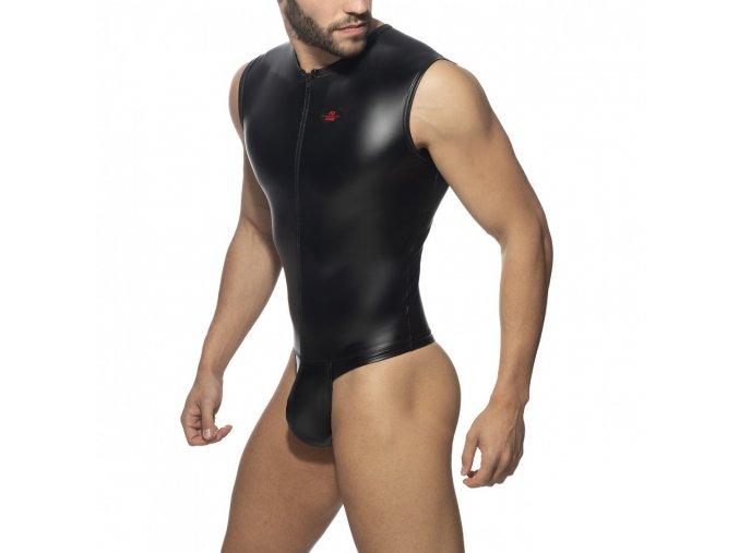 front zip rub body string