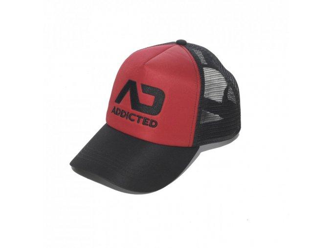 Kšiltovka AD FETISH CAP - červená