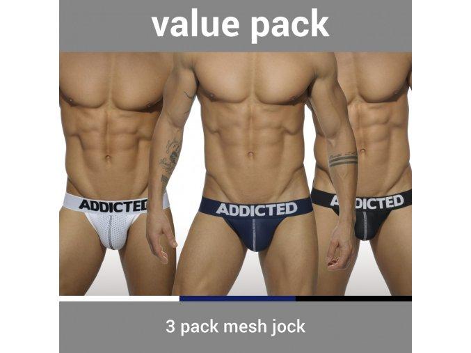 ad479p 3 pack mesh jock push up
