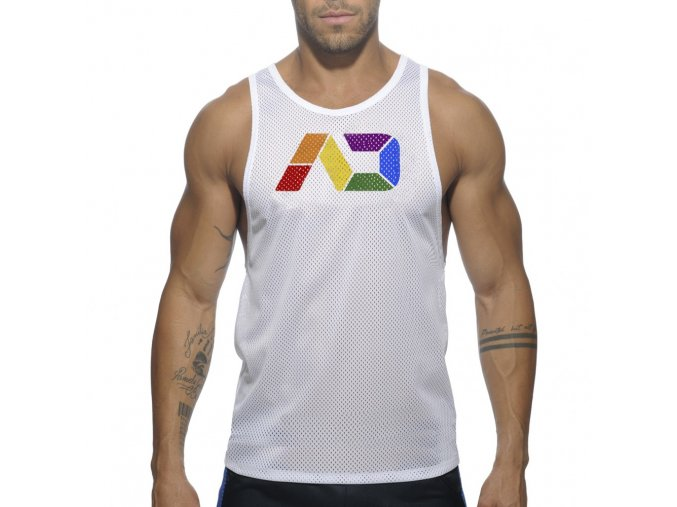 ad542 ad rainbow tank top