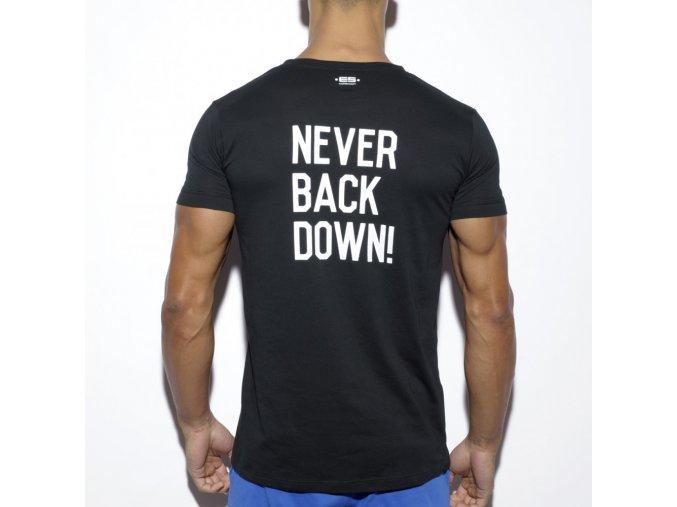 ts172 never back down u neck t shirt (5)
