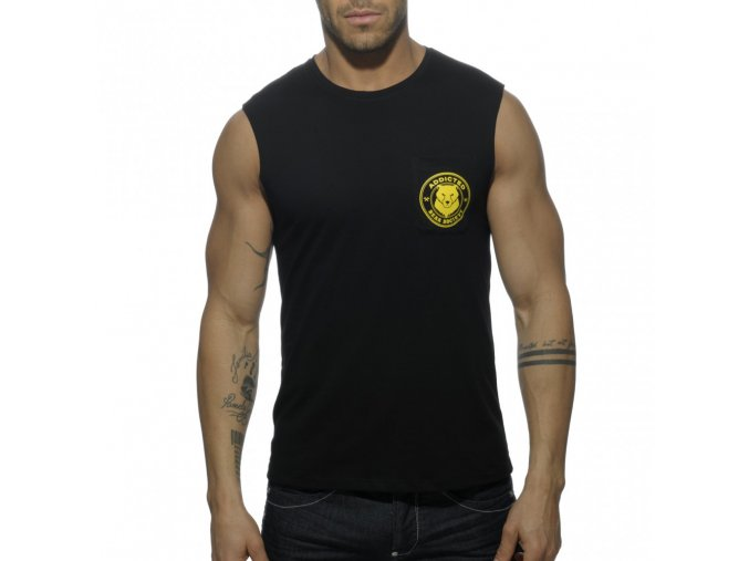 ad571 society bears pocket t shirt