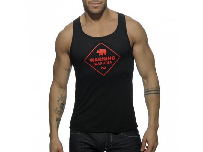 ad572 bear area tank top