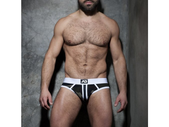 adf62 camo stripe fetish brief