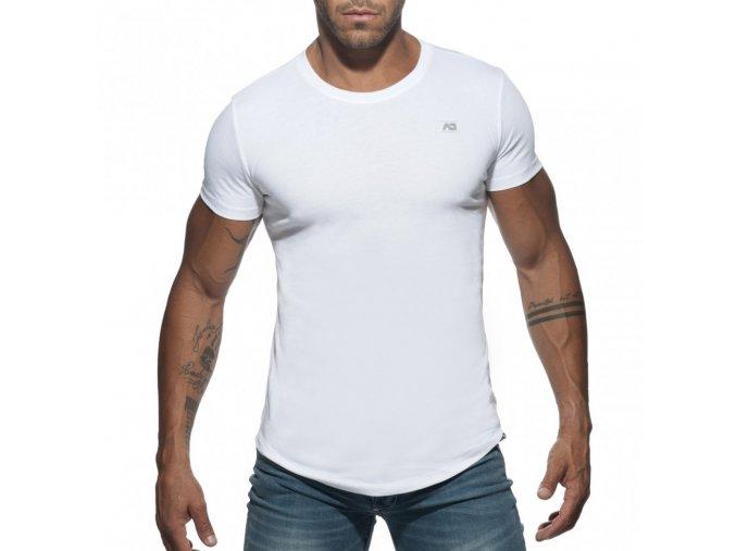 ad696 basic u neck t shirt