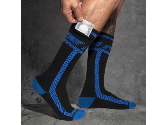 adf109 pockets fetish long socks