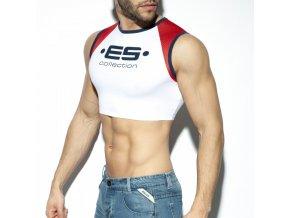 ts267 muscle crop top