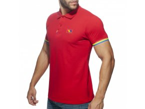 ad960 rainbow polo shirt (3)