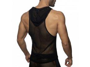 ad968 mesh sleeveless hoody (4)