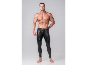 Pánské legíny Maskulo Youngero Generation Y. Men's Leggings. Codpiece. Zippered Rear - černé