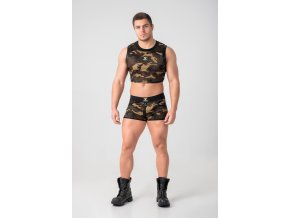 Pánský crop Maskulo EnForce. Crop Top