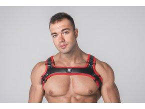 Harnessy Maskulo Youngero Generation Y. Men's Bulldog Harness - červené