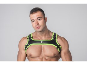 Harnessy Maskulo Youngero Generation Y. Men's Bulldog Harness - zelené