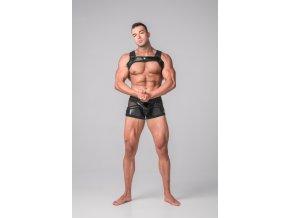 Harnessy Maskulo Youngero Generation Y. Men's Bulldog Harness - černé