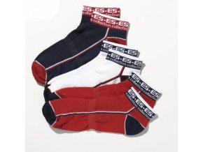 sck02p pack 3 ankle socks