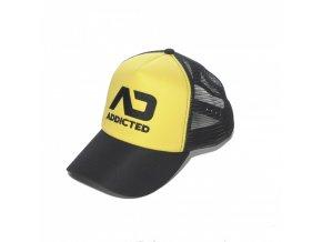 Kšiltovka AD FETISH CAP - žlutá