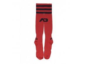 Ponožky AD BASIC ADDICTED SOCKS - červené