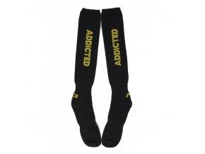 Ponožky AD FETISH ADDICTED SOCKS - žluté
