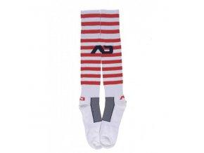 Ponožky AD SAILOR ADDICTED SOCKS - červené